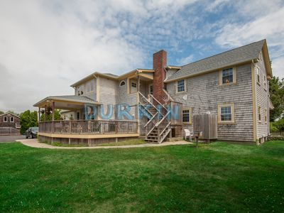 Photo for Large Home, Pool Access, Great for Family Reunions, Two Large Decks, Close to Beach, Central Air Conditioning