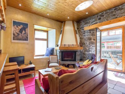 Photo for Fireplace Quiet and Central Chamonix Apartment with Wifi on River