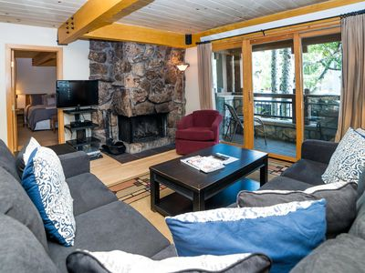 Photo for Comfortable ground floor three-bedroom with private balcony