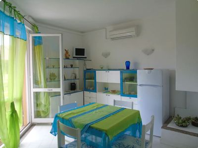 Photo for Apartment Close to the Beach with Air Conditioning, Wi-Fi & Balcony; Parking Available, Pets Allowed