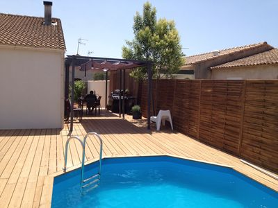 Photo for House with pool in Lunel for a family holiday in the south