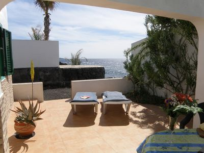 Photo for Fantastic location right on the sea