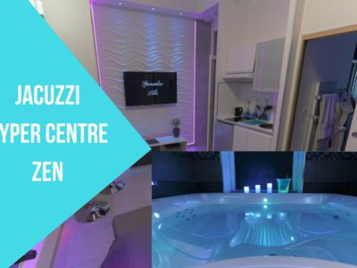 Photo for Sparadise Lille, hypercentre, jacuzzi, T1 28m², modern and design, Relaxation