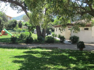 Photo for LOCATION CALVI CORSE near beach ideal couple with children 2 to 4 people