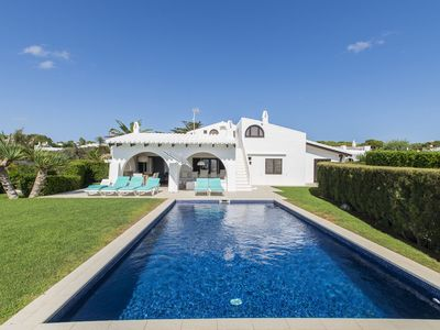 Photo for Stunning Villa Bini Andu with Sea View, Wi-Fi, Garden, Terrace & Pool; Parking Available