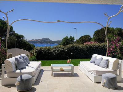 Photo for Fantastic Villa on the beach in Sardinia