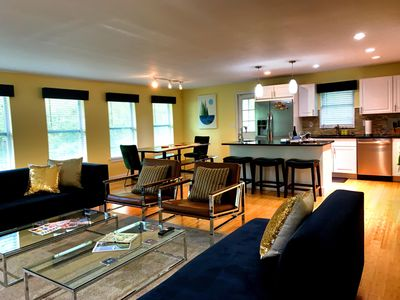 Photo for Luxurious Open Plan Entertaining Home - Walk to ND!
