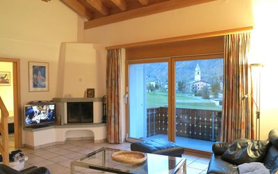 Photo for Vacation in a beautiful roof-apartment next to the Godola to Marguns