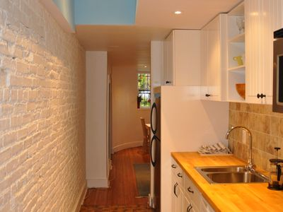 Photo for 4blks to DUPONT CIRCLE metro,private apartment in historical townhouse,1st flr