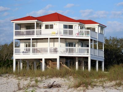Photo for BEACHFRONT!   Million $$ view from EVERY Room!  No Hurricane Damage!!