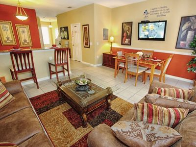 Photo for Luxury on a budget - Windsor Hills Resort - Feature Packed Cozy 3 Beds 3 Baths  Pool Villa - 3 Miles To Disney