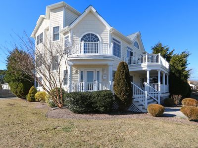 Photo for NEW LISTING! 5 bedrooms, 4 baths, 1 block to beach, 5 min to AC