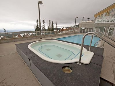 Photo for Ski-To/Ski-From Corner Unit with Fitness Centre, Hot Tub, and Pool Access!