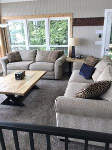 Living room with 2 couches
