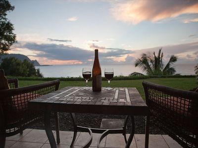 Photo for Stunning Oceanfront 'Balihai' View  Princeville Pali Ke Kua 101