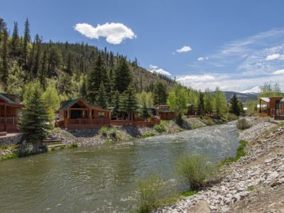 Photo for Cozy Cabin on the River. 1 Bed 1 Bath with Loft