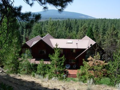Photo for MOUNTAIN RETREAT ~  Spacious And Secluded ~ On 64 Acres!