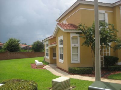 Photo for 4 bedrm Townhome Near Disney, 2 Master Suites in a Secure Gated Resort Free Wifi