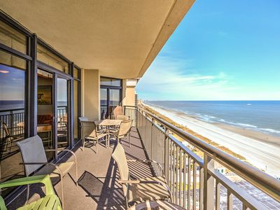 Photo for Custom with two oceanfront master suites!  New black stainless appliances!