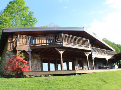 Photo for OVR's Timber Ridge-Gorgeous Lodge located ON the GAP Trail in Confluence!