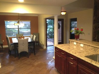 Photo for Waterfront 4 Bedroom Home on Beautiful Tampa Bay
