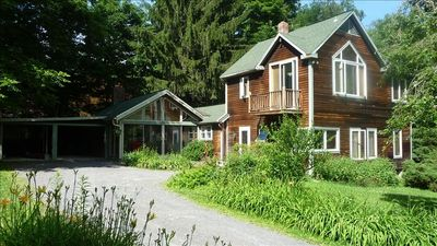 Photo for Berkshires-quiet, safe country getaway-families & reunions-4 bedroom, 2 bathroms