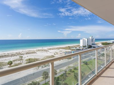 Photo for Gorgeous Views of the gulf from the balcony!