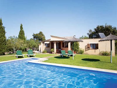 Photo for Comfortable Villa w/large pool & BBQ, close to Pollensa