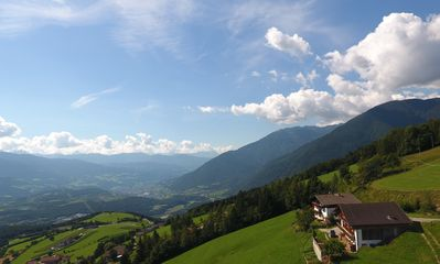 Photo for Apartment on a mountain farm in absolute dream location near the Dolomites.
