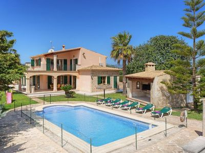 Photo for 3 bedroom Villa, sleeps 6 in Cala Ferrera with Pool, Air Con and WiFi