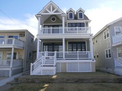 Photo for 3BR/2BA 1st Floor Beach House at 4641 West Ave - 2 Blocks from the Beach!