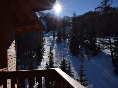Photo for Duplex on the slopes Résidence l'Albane