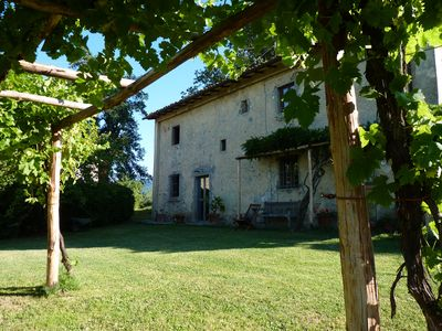 Photo for Lovely Old Farmhouse With Panoramic Views Of The Mugello, near Florence