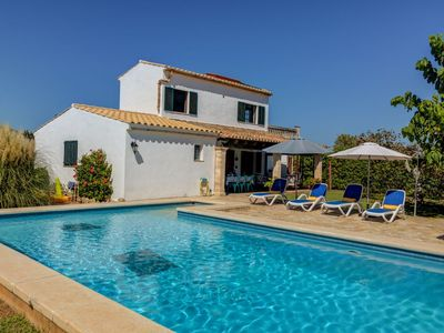 Photo for Ca Na Carmen - Villa for 6+2 people in Pollensa with private pool, AC and WiFi