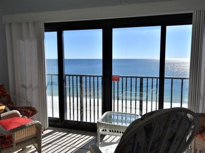 Photo for Gulf Tower 7C ~ Beach Front View from Master ~Bender Vacation Rentals