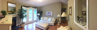 Photo for Fully Furnished Condo with Leather Living, Media, kitchenware and linens