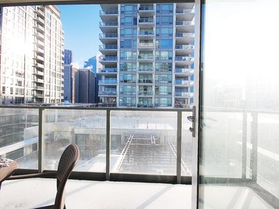 Photo for INACTIVE - Exec 1 Bedroom Condo/8th Flr View/Calgary Waterfront Eau Claire Downt