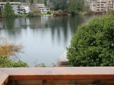 Photo for Lover's Lakehouse- Shoreline Home with a View