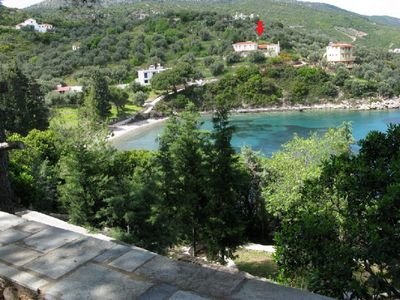 Photo for Agios Petros by the Sea / Traditional House located on a magnificent bay