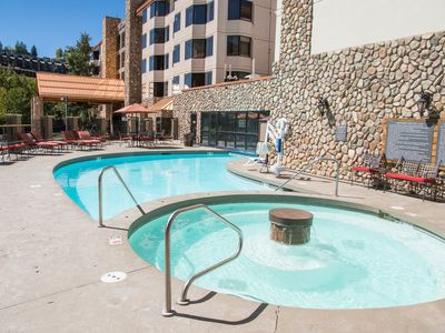 Photo for Great Value! Cozy + Rustic Studio with Indoor/Outdoor Pool Access