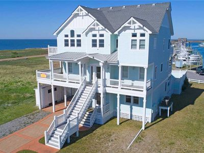 Semi-Soundfront Escape with Elevator, Pool & Tiki Bar, Hot Tub, Game Room & More