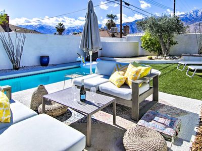 Photo for Alluring Palm Springs Desert Oasis Home w/Pool+Spa