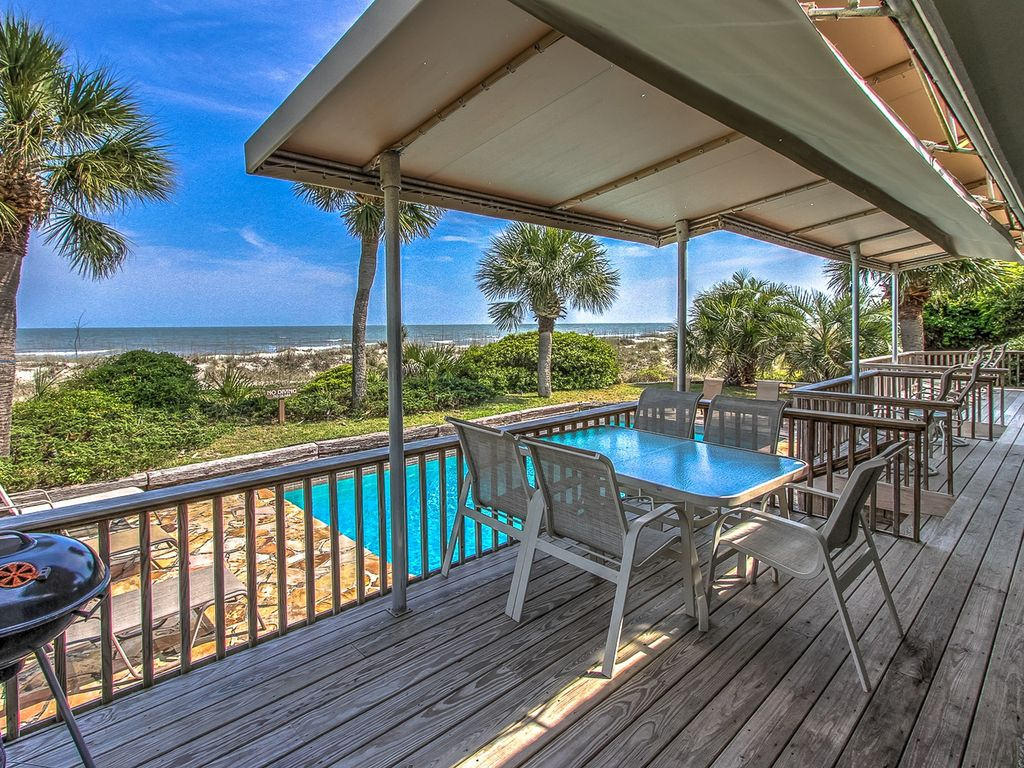 10 Long Boat 4br Oceanfront Home In Palmetto Dunes