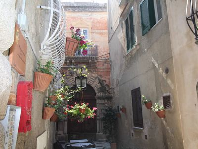 Photo for Apartment in the historic center of Tropea, 50 meters from the sea shore