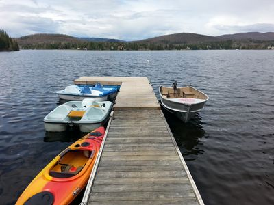 Boats available at no extra costs !