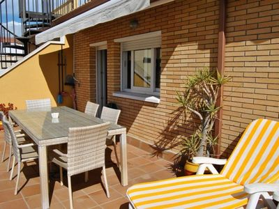 Photo for Holiday apartment Blanes for 6 persons with 3 bedrooms - Penthouse holiday apartment