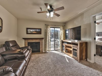 Photo for Perfect 1 Bedroom Sundance Condo | Bus Route | Heated Pool and Spa |
