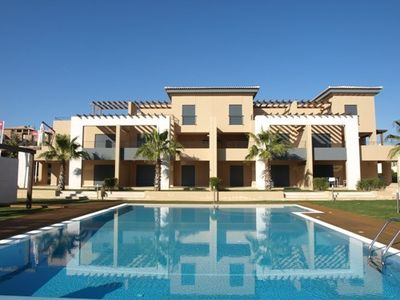 Photo for 3 Bed Apartment Rental w/ Pool nr Beaches, Golf in Vilamoura, Algarve, Portugal