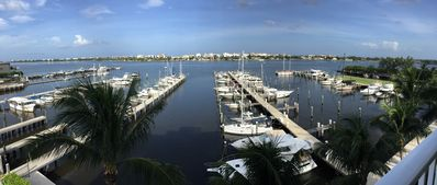 Photo for Amazing intracoastal and Marina view at The Moorings