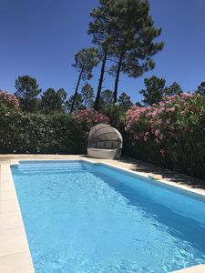 Photo for 3 Bedroom Provençal House, 15 mins from St Tropez, Private pool, Sleeps 6